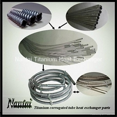 Titanium Corrugated Tube Coil Heat Exchanger