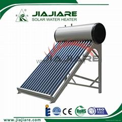 240L hot sale non pressure vacuum tube solar heater