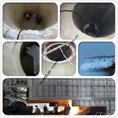 Fused Alumina Corundum based Neutral ramming mass for 1-60 ton induction furnace
