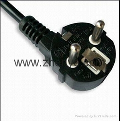 European Power Cord