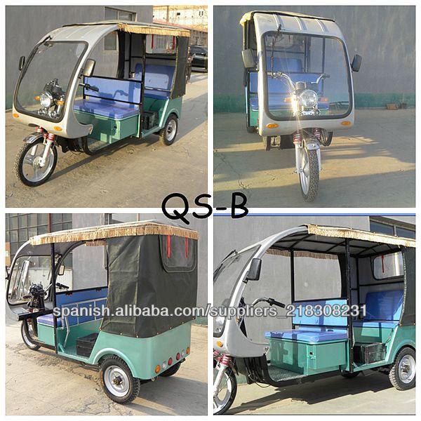 Eco Friendly Battery Operated Electric Auto Rickshaw China