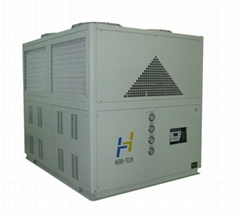 Air cooled low temperature industrial chiller