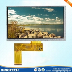 "7"" resistive touch panel"