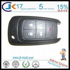 ISO9001 car key two shot mold