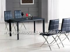 korean glass table - korean glass dining table - tempered glass table