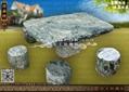 整套園林石桌椅 3
