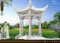 六角亭雕刻 2