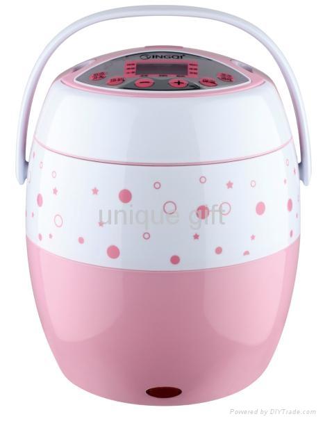 350w Mini electric Non-Stick Inner pot rice cooker  1
