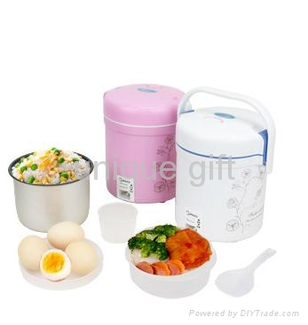 Attractive hot sell electric rice cooker with steamer 1