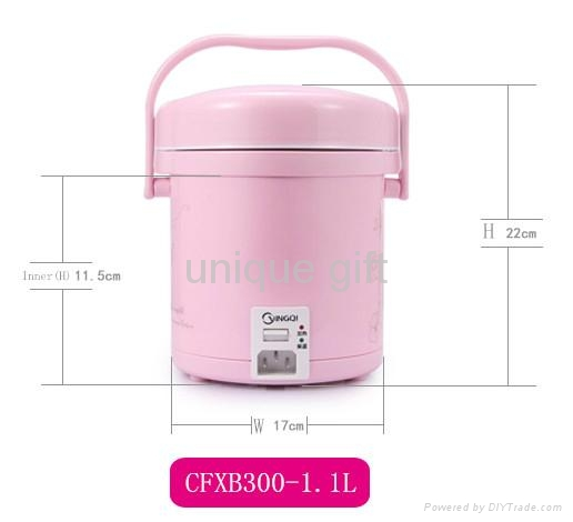 Attractive hot sell electric rice cooker with steamer 4