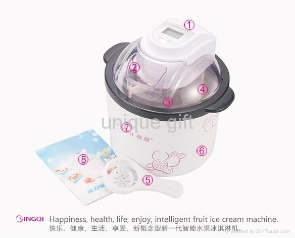 2014 New Product Home USE DIY Portable Ice Cream Maker 4