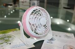 Unique Gift 5v battery rechargeable fan