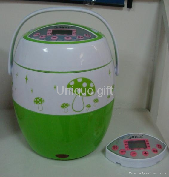 Automatic Electric 8-in-1 Heating Box Mini Rice Cooker 1