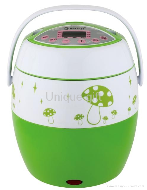 Automatic Electric 8-in-1 Heating Box Mini Rice Cooker 2