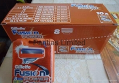 FREE SHIPPING Gillette Fusion Power 8 cartridges