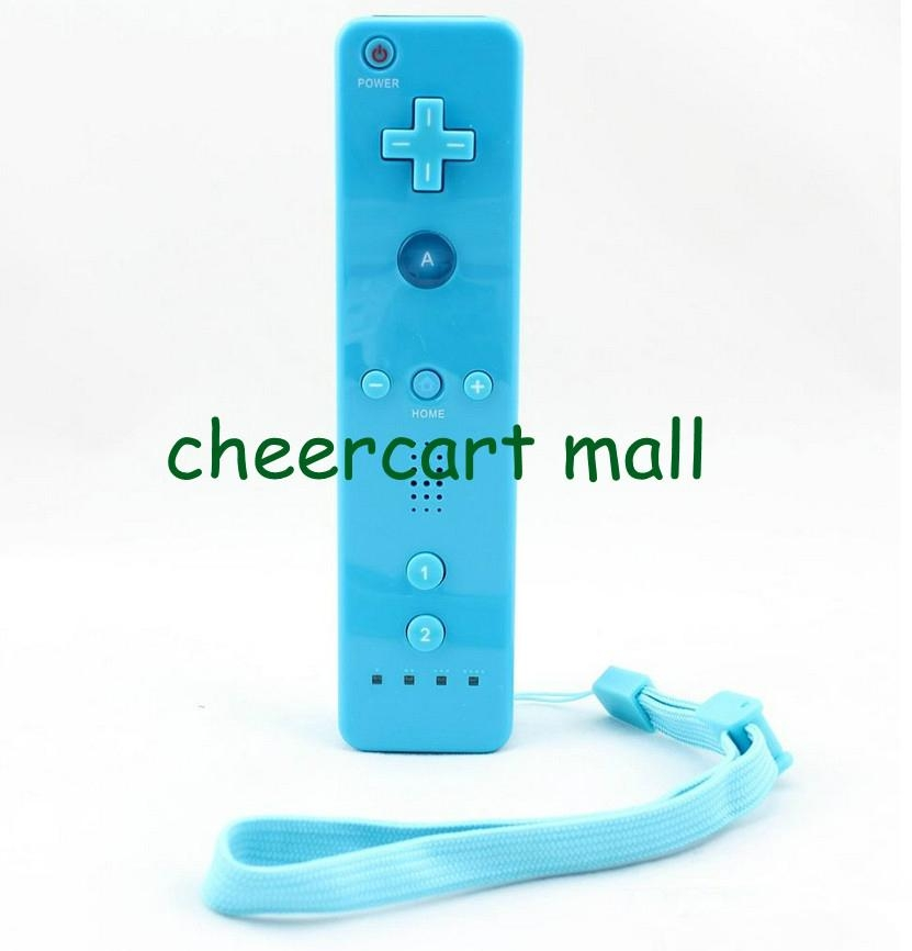 5 Colors Optional Built in Motion Plus Remote Controller for Nintendo Wii games