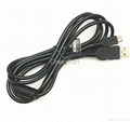 1.9M USB Sync Data Charging Cable for PS3 Controller
