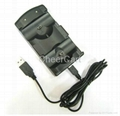 2 in 1 Charge Dock Station for PS3 Move Game Controller