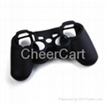 Silicon case for PS3 controller black