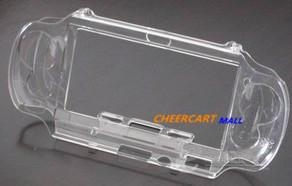 psp vita crystal case protective cover with stand 1