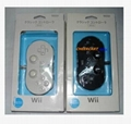 Classic Controller for Nintendo Wii White Black