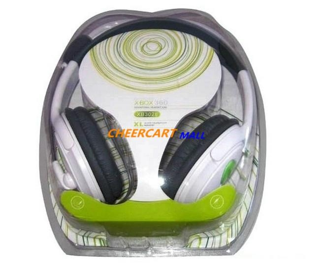 Sensational Headset with Microphone White for XBox 360