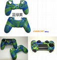 PS4 controller camouflage pattern soft silicon case
