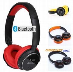 Music Stereo Wireless Bluetooth V3.0 FM TF Slot Headphone