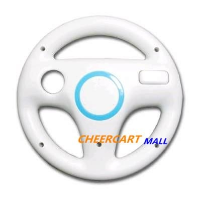 Steering Wheel for Nintendo Wii Mario Kart Racing Game