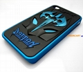Stylish 3D BATMAN Pattern Hard Case Cover for iPhone 4G 4S 5G 5S