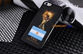 Hot Selling The 2014 World Cup case trophy Style Hard Back Cover Skin For iphone