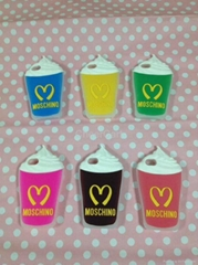 Moschino Macdonald Icecream Cup Silicon Case for Iphone 5 5S