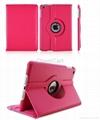 360° Rotating Leather Cover Case with Stand Function for iPad Air 5 10 colors