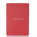 PU Leather Case for iPad 5 Smart Covers with Stand Magnetic for iPad air