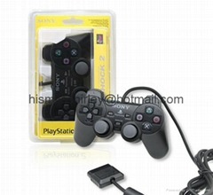 PS2 gamepad PlayStation 2 controller with wire