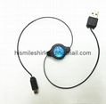 Retractable USB cable for NDSi/ Dsi LL/ 3DS/ 3DS LL/ New 3DS LL