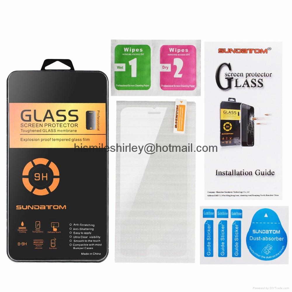 Tempered Glass Screen Protector Film For Apple iphone 5 5S 5C SE  6