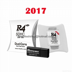 HOT 2017 R4i dual core, R4isdhc 3ds fire card (Hot Product - 1*)
