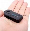 Hands Free Car Bluetooth Audio Music Receiver 3.5mm 5