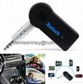 Hands Free Car Bluetooth Audio Music Receiver 3.5mm 1