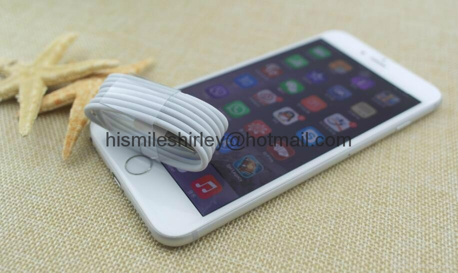 Fast Charging 1M 2M 3M TPE 8 Pin USB Charger Data Sync Cable for iphone