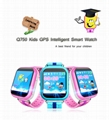 GPS smart watch Q750 baby watch SOS call