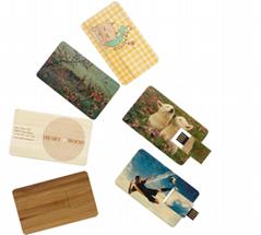 business card memory flash drive usb 2.0 stick Customized Logo 4gb 8gb 16gb 32gb
