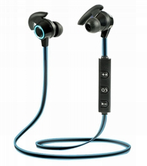 AMW-810 In-Ear Bluetooth Earphones Stereo Noise Cancelling Earphone with Mic