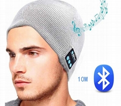 Wireless Bluetooth headphones Music hat Smart Caps with Mic