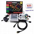 621 Games Childhood Retro Mini Classic 4K TV HDMI 8 Bit Video Game Console