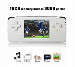 Retro 64 Bit 3 Inch 3000 Video Game Retro Handheld Console