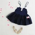 Angou New baby Girls slip dress Toddler Kids Clothes Sleeveless girl Tutu Dress  3