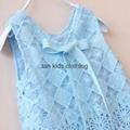 Agnou Summer Lace Vest Girls Dress Baby Girl Princess Dress Chlidren Clothes  3