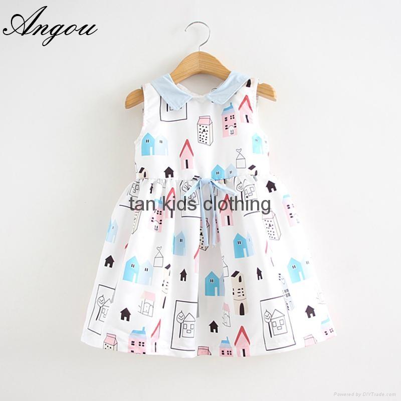 a3354f0bb Angou Girls Dress Brand Fashion Princess Dress Designer Character ...
